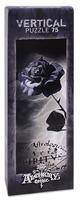 Мини пъзел Heye от 75 части - Черната роза