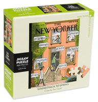 Мини пъзел New York Puzzle от 100 части - Пролетен саундтрак