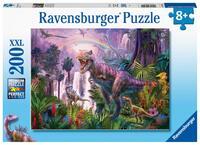 Пъзел Ravensburger от 200 XXL части - Кралят на динозаврите