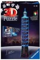 3D Пъзел Ravensburger от 216 части - Тайпе, светещ