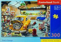 Пъзел Castorland  от 300 части - Ретро гараж