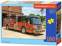 Пъзел Castorland от 180 части - Пожарна кола