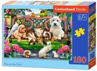 Пъзел Castorland от 180 части - Животни в парка