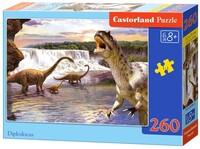 Пъзел Castorland  от 260 части - Динозаври