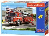 Пъзел Castorland от 260 части - Пожарна кола