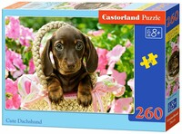 Пъзел Castorland от 260 части - Кученце