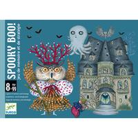 Djeco игра с карти Spooky Boo!