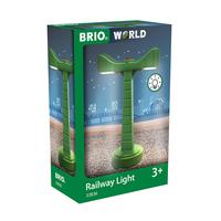 Brio играчка лампа за железопътна линия