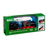 Brio парен локомотив с вагон