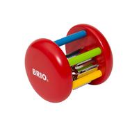 Brio дървена цветна дрънкалка
