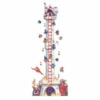 Djeco стикер-метър Knight's tower