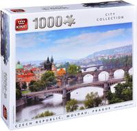 Пъзел King от 1000 части - Прага, Ян Влоракзик