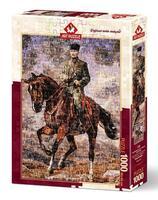 Пъзел Art Puzzle от 1000 части - Мустафа Кемал с неговия кон Сакаря