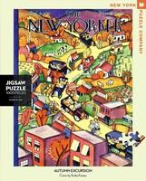 Пъзел New York Puzzle от 1000 части - Есенна екскурзия