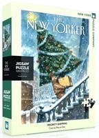 Пъзел New York Puzzle от 1000 части - Коледни вълнения