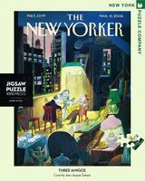 Пъзел New York Puzzle от 1000 части - Трима музиканти