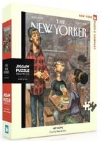Пъзел New York Puzzle от 1000 части - На вечеря