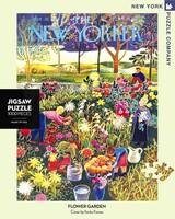 Пъзел New York Puzzle от 1000 части - Цветната градина