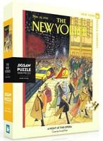 Пъзел New York Puzzle от 1000 части - Градски светлини