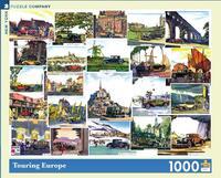 Пъзел New York Puzzle от 1000 части - Европа