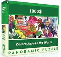Панорамен пъзел New York Puzzle от 1000 части - Цветен свят