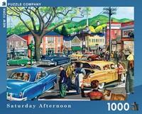 Пъзел New York Puzzle от 1000 части - Съботен следобед