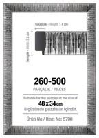 Рамка за пъзел Art Puzzle - Сива, за 500 части