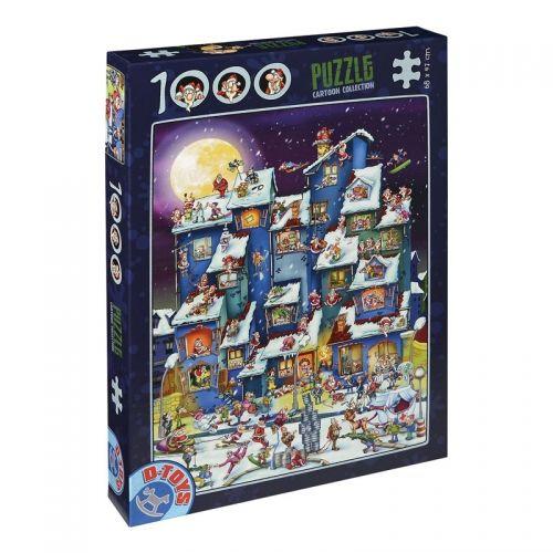 Пъзел от 1000 части D-Toys – Дядо Коледа