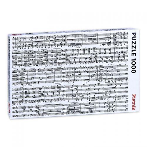 Пъзел Piatnik от 1000 части - Музикални ноти