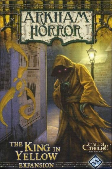 ARKHAM HORROR : KING IN YELLOW - Expansion
