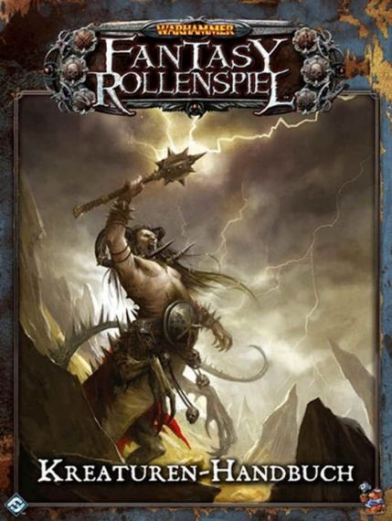 WARHAMMER FANTASY ROLEPLAY - THE CREATURE GUIDE