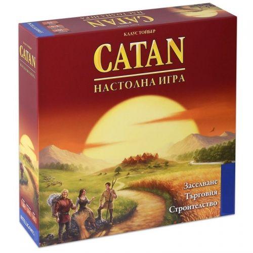 Заселниците на CATAN - базисна игра за 3/4 човека