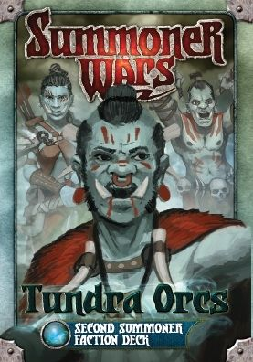 SUMMONER WARS :  TUNDRA ORCS SECOND SUMMONER Faction Deck