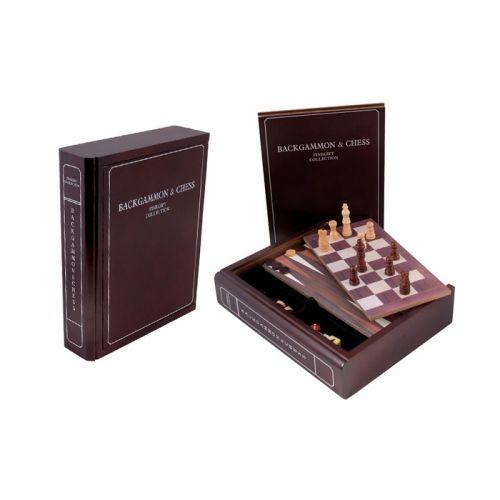 The Book - Комплект 3 игри - табла, шах и дама