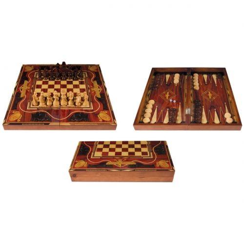 Комплект шах,табла и дама Egypt - голям