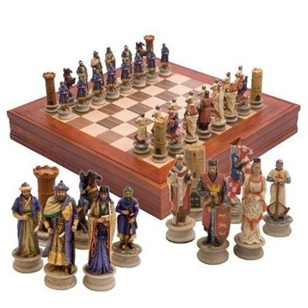 Луксозен шах Vertini - Кръстоносци WU63