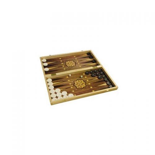 Комплект шах и табла Modiano - 48х48 см, принтирана