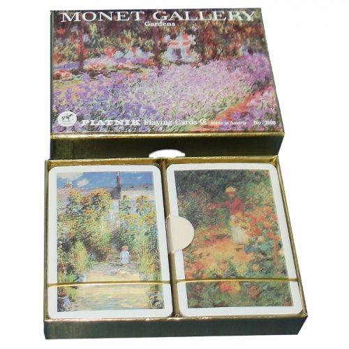 Карти за игра Piatnik Monet-Gardens