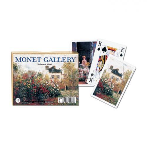 Карти за игра Piatnik Monet - Maison