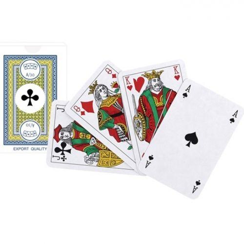 Карти за бридж и канаста Modiano, син гръб