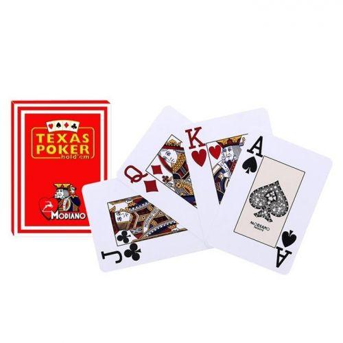 Покер карти Texas Poker 100% Plastic