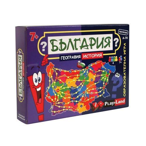 България - география и история