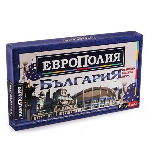 Настолна игра PlayLand - Европолия България - малка