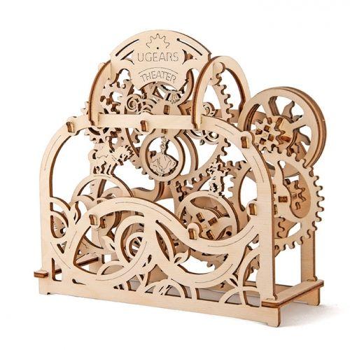 Механичен 3D пъзел Ugears - Театър