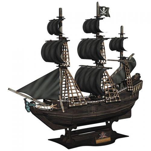 3D Пъзел Cubic Fun от 155 части - Кораб The Queen Anne's Revenge