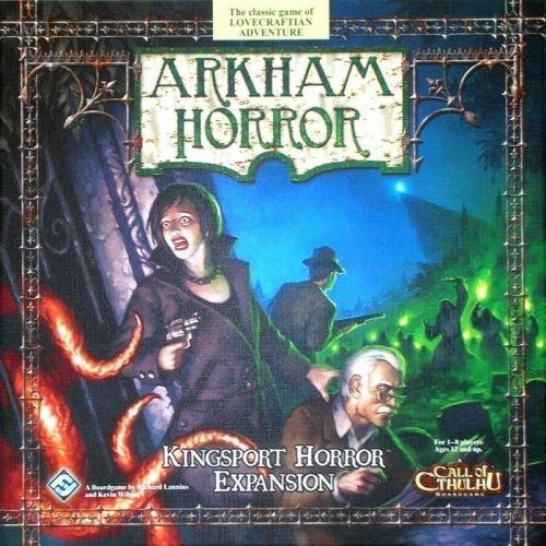 ARKHAM HORROR : KINGSPORT HORROR - Expansion