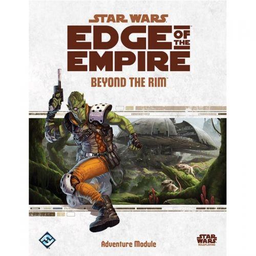 STAR WARS EDGE OF THE EMPIRE- BEYOND THE RIM - ADVENTURE MODULE