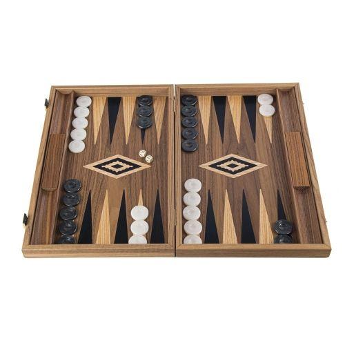 Табла за игра Manopoulos - Американски орех, 48x30 см
