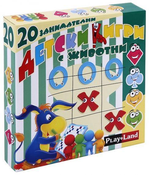 Настолна игра 20 занимателни детски игри с животни