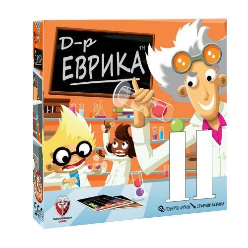 Настолна игра Д-р Еврика, детска